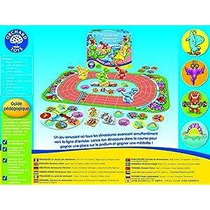 Orchard Toys–La carrera de los dinosaurios, 177 , color/modelo surtido
