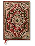 Paperblanks Ventaglio Barockfächer Rosso Notizbuch Midi Flexi Liniert 240 Seiten (Flexis)