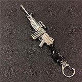 B-Creative AKM KAR98K metal Model Gun Playerunknown da Battlegrounds Pubg portachiavi portachiavi (style-3)