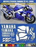 Autocollants Yamaha YZF-R1YZF R1(1999) kit compatible d'occasion  Livré partout en Belgique