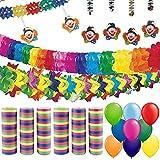 partydiscount24 Partypaket Dekoset Karneval