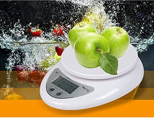 Bestland 5Kg/11LB 1g Elektronische Multifunktionale Digital Küchenwaage Briefwaage Tischwaage Digitalwaage Feinwaage Kitchen Scale mit LCD-Display