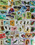 ALL 50 DIFFERENT STAMPS ARE INSECTS