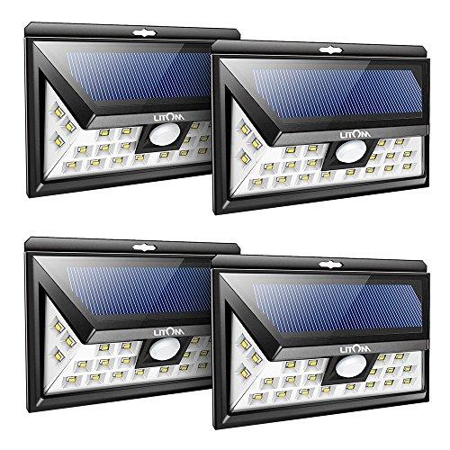 4pz-litom-24-led-lampada-solare-con-sensore-movimento-luce-da-esterno-ad-energia-solare-impermeabile