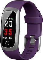 Trswyop Fitness Tracker [Ultima Versione] Orologio Fitness Braccialetto Pressione Sanguigna Cardiofrequenzimetro da...