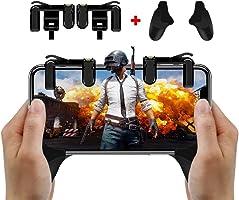 Magicfun Mobile Game Controller/ Phone Game Gamepad Joystick Handle Grip Sensitive Shoot per Controller Sparatutto per Coltelli / Regole di Trigger di Gioco Survial per iOS E Android