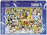 Ravensburger Italy 17432 4 - Puzzle Micky l'Artista, 5000 Pezzi