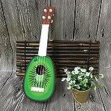 Jiayuane kiwi Enfants Fruit Ukulele Ukelele Guitare Jouet éducatif d'instrument de musique pour des filles de garçons comme un cadeau d'anniversaire de cadeau d'école...