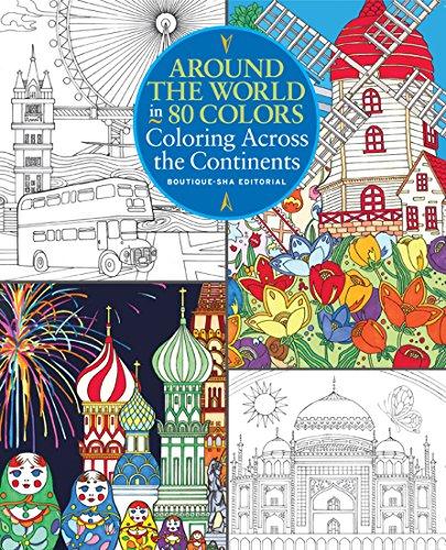 Around the World in 80 Colors por Boutique Sha Editorial