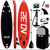 NO. 32 10ft / 3m Inflatable Stand Up Paddle Board   Inflatable SUP Board Beginner's Surfboard Kit w/Adjustable Paddle   Air P