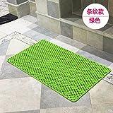 YISANLING-DT 51 * 51 cm/40 * 70cm/46 * 78cm/60 * 90 cm Badezimmer Anti-Rutsch-Matte Teppich/Dusche/Wanne mat/Bad/Badewanne Anti-rutsch-Teppich grün 40 * 70 CM