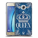 Head Case Designs Queen Bedruckte Denim Stoffe Soft Gel