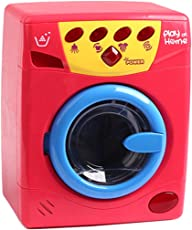 VG Toys & Novelties Play at Home Washing Machine with Realistic Simulation of Sound and Light Effect Pretend Play Toys for Kids