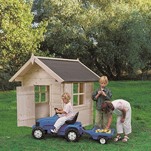 Preisvergleich Produktbild Kinderspielhaus BIMBI aus Holz 110 x 110(H) CM