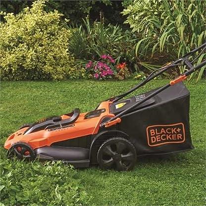 BLACK+DECKER CLMA4820L2-QW Rasaerba, con Doppia Batteria, al Litio, 36V, 2.0 Ah, Taglio 48 cm