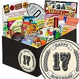 17. Geburtstagsgeschenk | 24er Allerlei | Geschenkbox | Geschenke 17 Jahrestag