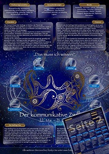 Sternzeichen Zwilling - Die Horoskop- und Charakter-Karte für Liebe, Partnerschaft, Beruf, Finanzen und Gesundheit: Die psychologische Astrologie von...