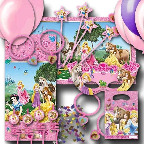 Kindergeburtstag Partydekoset Prinzessin