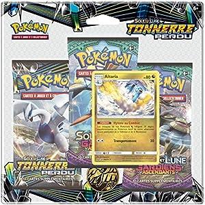 Pokèmon-Pack 3Boosters Sol y Luna 8, 3pack01sl08