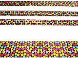 Stixskin 2vinile decorativo colorato fasce per bastoni da Nordic Walking, escursionismo, trekking   20Custom design per uomini, donne e bambini   Leki, EXEL, Gabel, Fizan, Vipole, Swix, Salomon  , Smiles