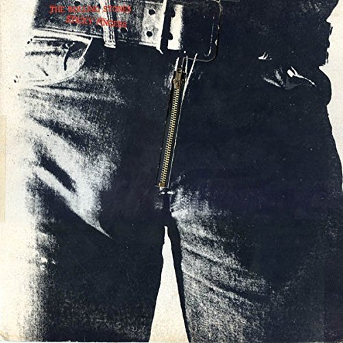Rolling Stones, The - Sticky Fingers - Rolling Stones Records - CBS 450195 1 (Rolling Stones Vinyl Record)