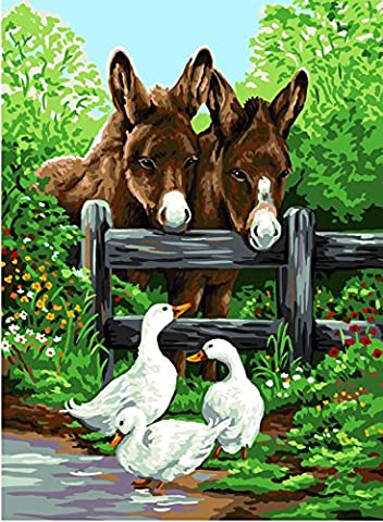 Anchor Royal Paris Donkey and Geese, Set of 2