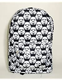 Loungefly Star Wars Storm Trooper All Over Black & White Backpack