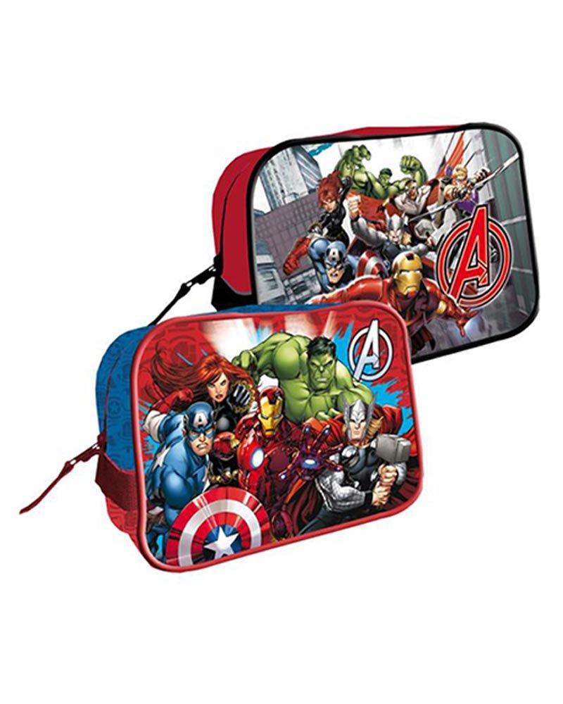 Neceser Vengadores Avengers Marvel Reunion Cuadrado Surtido