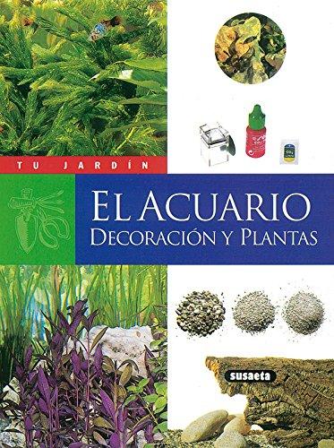 El acuario, decoración y plantas