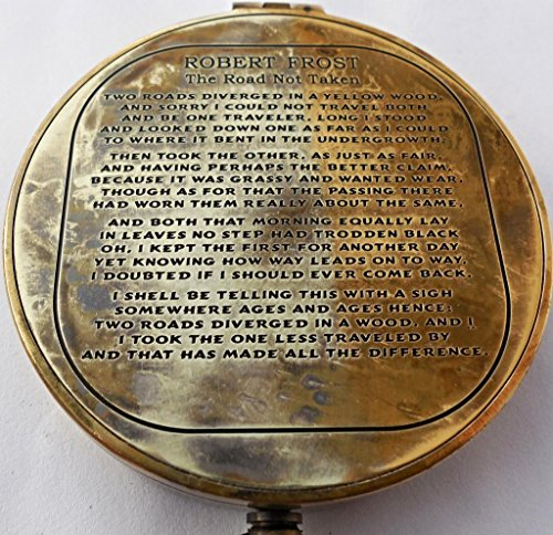 Newsbenessere.com 61nKXbAAIBL D'antiquariato Robert Frost Poesia incisa Compass.C-3142