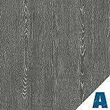 Artesive Roble Gris Oscuro medidas 30 cm x 10mt. - Película adhesiva Vinilo efecto Madera para la decoración de la casa, muebles, puerta y todas las superficies lisas.