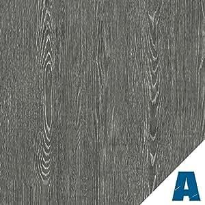 Artesive Rouvre Gris Sombre largeur 30 cm x 5 m. - Film Adhésif autocollant en Vinyle Effet Bois pour la maison, la décoration, meubles, porte et toutes les surfaces lisses