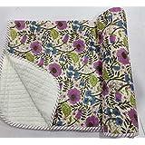 Hand Block Print Baby Quilt, Baby Blanket, Baby Bedcover, Quilt Baby, Baby Dohar Throw Bedding Cover 01