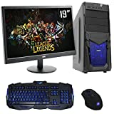 The PC Customiser Ultra Fast Gaming PC Bundle - AMD A6 6400K Dual Core @ 4.10GHz, HD8470D, 4GB DDR3 1600MHz RAM, 1TB Hard Drive, MSI A68HM Grenade, CiT Venom Blue Case, WiFi, 19