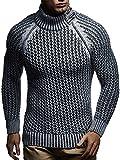 LEIF NELSON Herren Pullover Hoodie Strickpullover Sweatshirt Longsleeve Strickjacke Winterpullover Pulli LN5295 3
