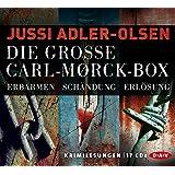 Die große Carl-Mørck-Box (17 CDs), 3 Teile: 1. Erbarmen + 2. Schändung + 3. Erlösung