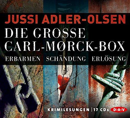 Preisvergleich Produktbild Die große Carl-Mørck-Box (17 CDs), 3 Teile: 1. Erbarmen + 2. Schändung + 3. Erlösung