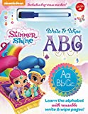 Nickelodeons Shimmer and Shine Write & Wipe ABC: Learn the Alphabet with Reusable Write & Wipe Pages!