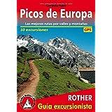Picos de Europa. Las mejores rutas por valles y montañas. 50 excursiones. Guía Rother.