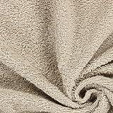 Fabulous Fabrics Frottee - Sand - Meterware ab 0,5m -