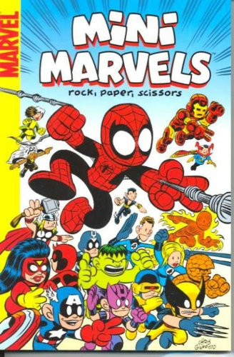 Mini-Marvels: Rock, Paper, Scissors Digest por Chris Giarrusso