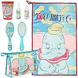 Neceser Set Aseo/ Viaje Disney Dumbo, Turquesa, 23 cm