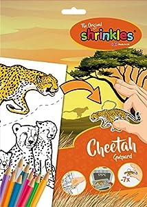 Shrinkles Shrinkles-WZ072 Paquete de pl&Aacutesticos Dise&ntildeos de guepardos, Color Desconocido (Keycraft WZ072)