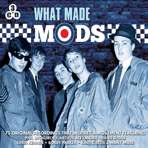 What Made Mods England Blue Music Box