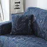 Monba Sofa Bezug Easy Fit Stretch Möbel 1234-Sitzer-Schonbezug Home Liebesschaukel Sofa Couch abdeckt, elastischer Stoff Sofa Displayschutzfolie Geometrische Stil, Polyester, #9, 2pc Pillowcase:45*45cm