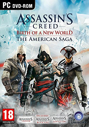 Assassin's Creed – American Saga (Black Flag/AC3/Liberation) PC 61nLOrPNI5L