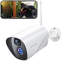 Victure Caméra de Surveillance Extérieure,1080P Caméra 2.4G WiFi sans Fil IP Caméra,PIR Détection de Mouvement, Audio…