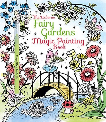 Fairy Gardens Magic Painting Book (Magic Book Painting)