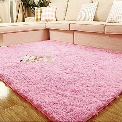 "Weimanshop Soft Anti-skid Woolen Carpet Floor Mat Shaggy Rug Living Room Bedroom Decor 7 Colors 31.5""*47"" - low-cost UK light shop."