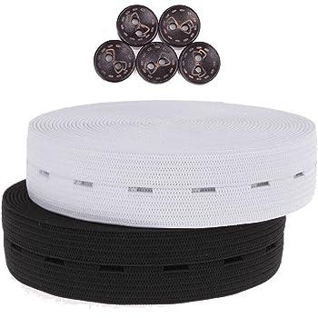 Boutonnière élastique boutonnière ceinture 2 cm.  Amazon.fr  Cuisine ... c1f73e451b48